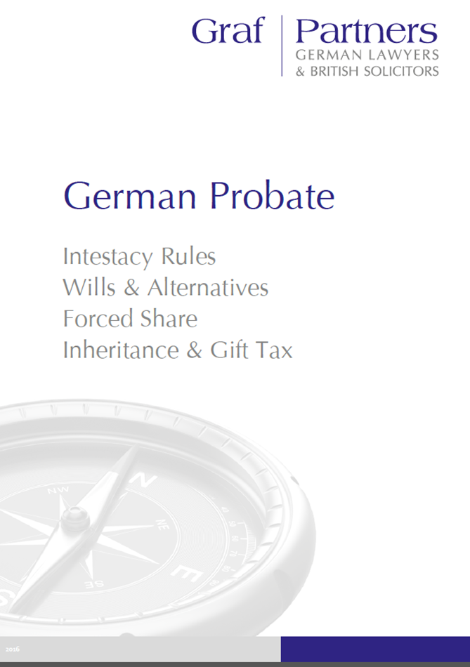 German Succession & Inheritance Law | Cross Channel Lawyers - Part 2